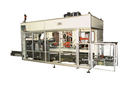 vertical case packing machine